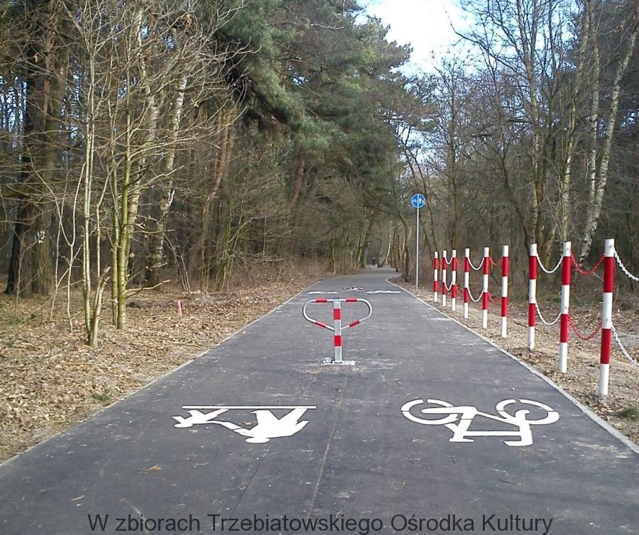 Ścieżka rowerowa Dżwirzyno-Kołobrzeg
